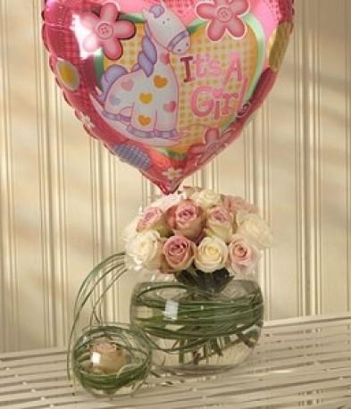 Mother & Baby Girl Balloon