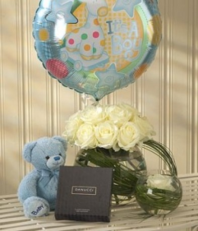 Mother & Baby Boy Gift