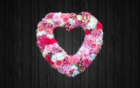 Pink Heart - HEA34