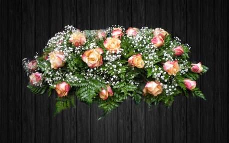 Orange Roses - SPR56