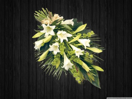 White Lily Sheaf - SHE19