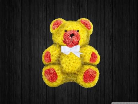 Sitting Teddy Bear 5