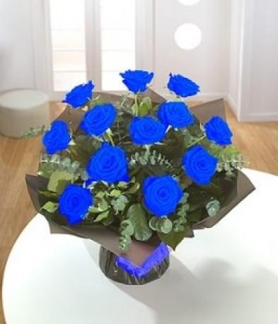 12, 24, 50 Blue Roses
