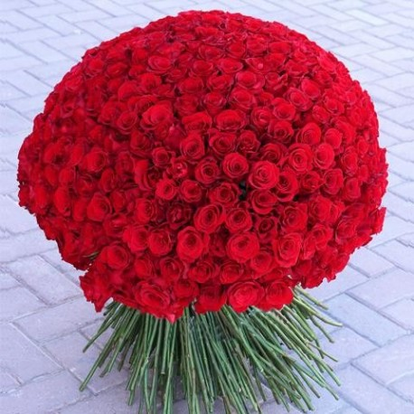 300 Red Roses? Less Is More!