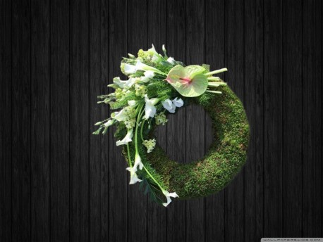 Moss Wreath - WRE132
