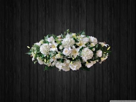 White Coffin Spray - ART19