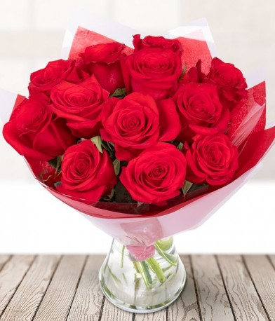 Just 12 Red Roses