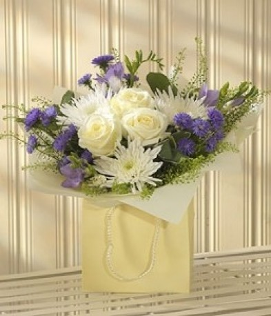 Blue Lullaby Bouquet