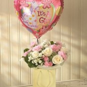 Pink Lullaby Balloon Gift