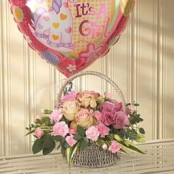 Pink Bundle Of Joy Balloon