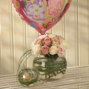Mother & Baby Girl Balloon