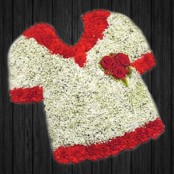 Red & White Shirt