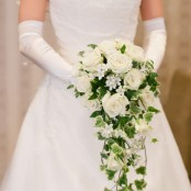 White Rose Bridal Trailing