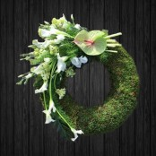 Moss Wreath - WRE132